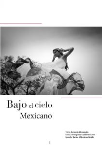 booklet Bajo el cielo mexicano